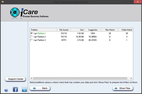 Phục hồi dữ liệu với icare