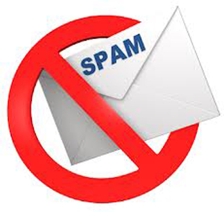 No spam email